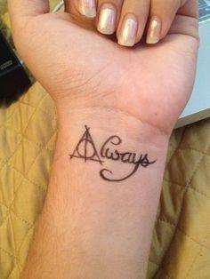 tatouage poignet interieur mot anglais always