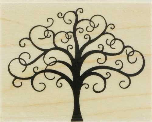 exemple tatouage femme arbre branches en arabesques
