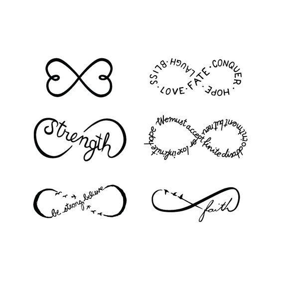 6 exemples infini femme a tatouer