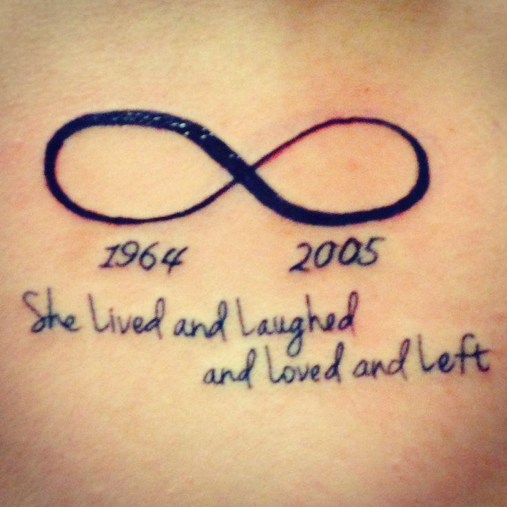 infini tatouage femme 2 dates et phrases