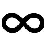 tatouage symbole infini 8 couche