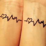 tatouage coeur femme top 100 des beaux tattoos coeurs. Black Bedroom Furniture Sets. Home Design Ideas