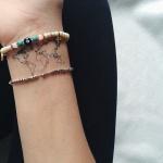 Inspiration tattoo discret a tatouer carte interieur poignet