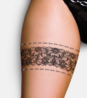 inspiration dentelle fine pour femme tour de cuisse tatouage femme. Black Bedroom Furniture Sets. Home Design Ideas
