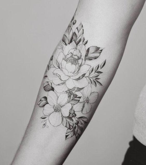 Tattoo Fleur De Lotus Bras Fleur De Lotus