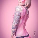 modele tatouage bras entier couleur manche