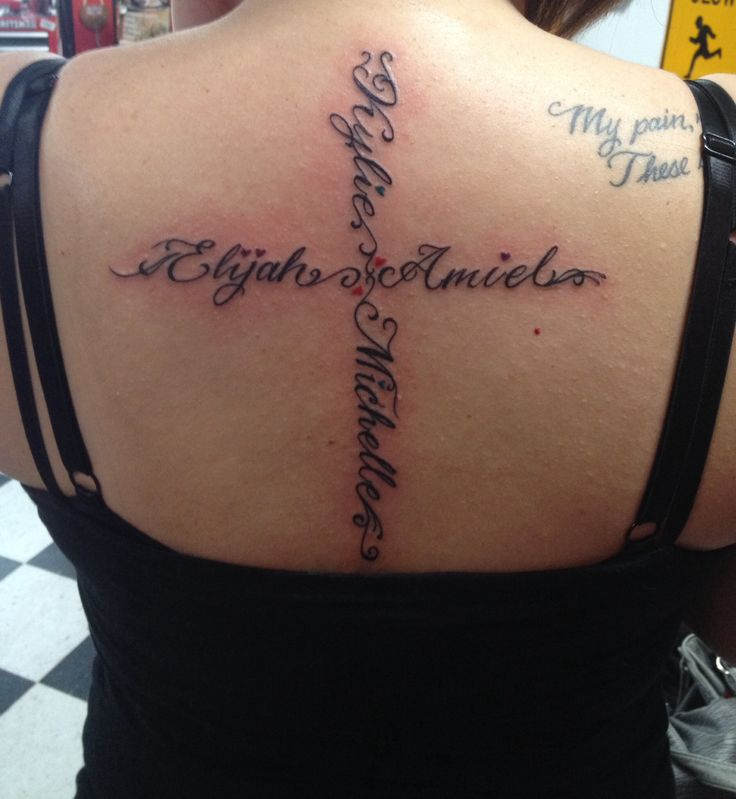 tatouage prenom dos femme | kolorisse developpement