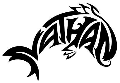 tatouage femme prenom nathan