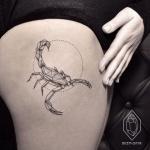 Top 85 Des Modeles De Tatouage Scorpion Femme
