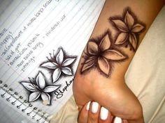 Photo Tattoo Feminin Poignet 2 Fleurs De Lys Tatouage Femme