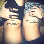 phrase tatouage femme cotes parahraphe 2 lignes