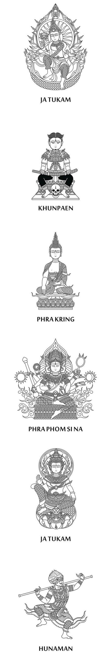 modeles tatouage symboles bouddhistes fille
