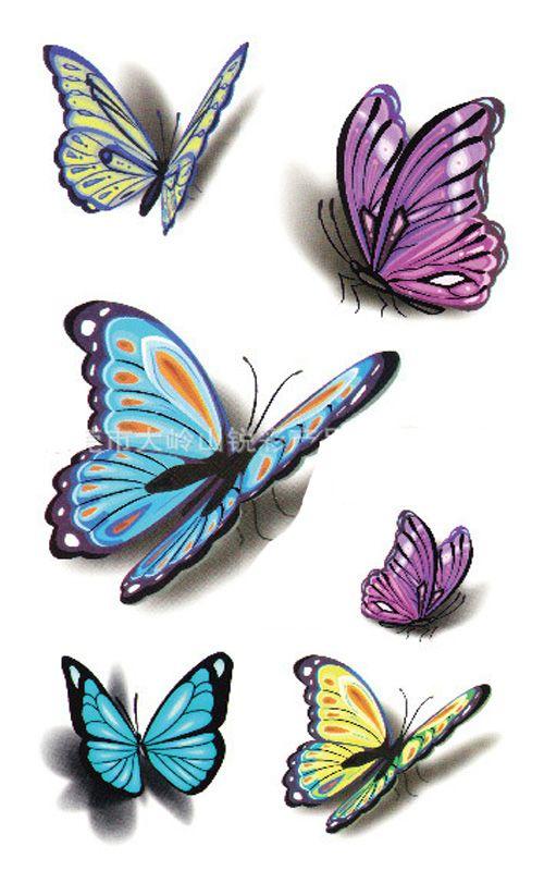 6 modeles de tattoo feminin papillon