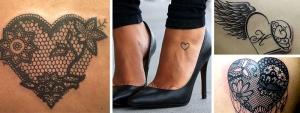 Trouvez des idées pour votre tatouage femme coeur