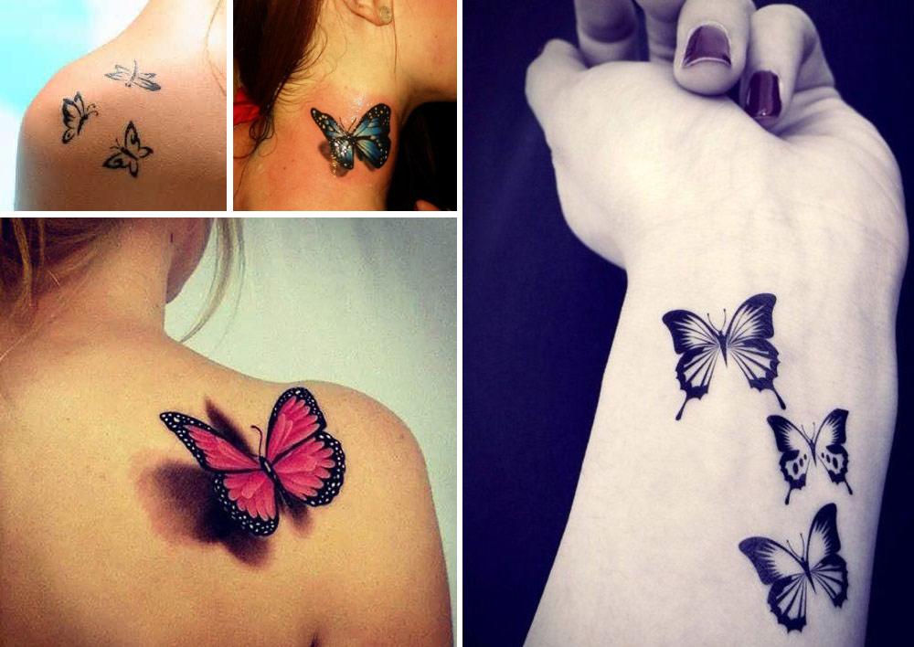 tatouage femme papillon exemple