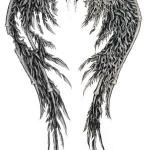 Tatouage dos femme les beaux tattoos f dans le dos - Ailes d ange dessin ...