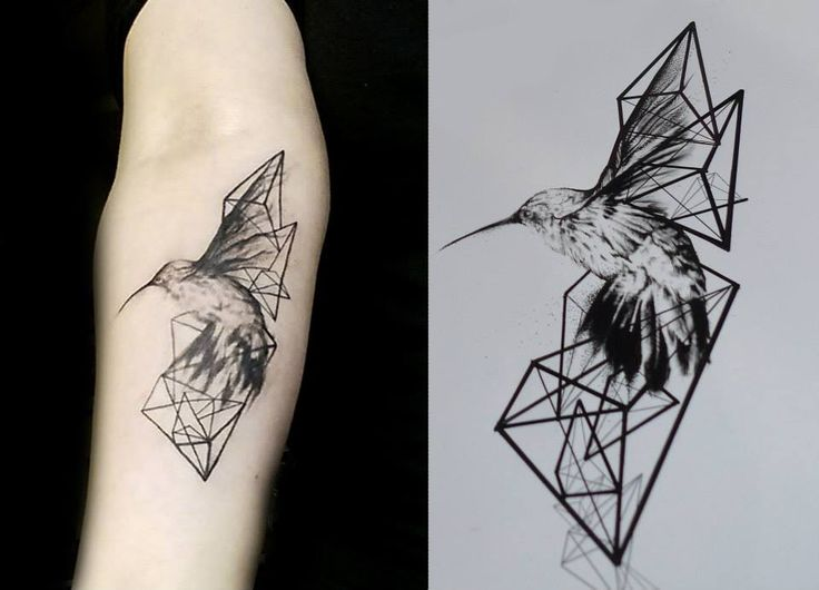 Photo Tattoo Signe Oiseau Origami Tatouage Femme