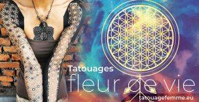 Fleur de vie tatouage signification de la fleur de vie