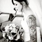 tatouage femme manchette integral de l epaule au poignet